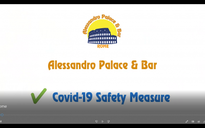 Safe hostel under covid-19 era: Alessandro Palace & Bar